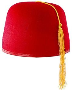 67b71194636 Kids  Costume Hats - Rubies Costume Co Durashape Fez Hat Red Costume  gt  gt