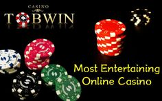 Enjoy the most entertaining and exciting games at #Tobwin Online Casino #poker www.tobwin.com