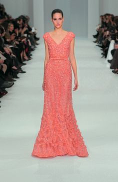 ELIE SAAB Haute Couture Spring Summer 2012, it's pink, it's sparkly, it's flowy...what more could you want?!
