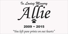 Personalised Pet Stone Memorial Marker White Marble Marker Dog Cat Horse Bird Human 6 X 12 Custom Design Personalized Akita Poodle Bulldog Beagle * You can find out more details at the link of the image.