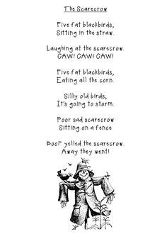 Scarecrows ~ Poem and Art!