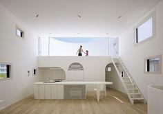 Light Stage House – Hiroshima, Japan by Future Studio
