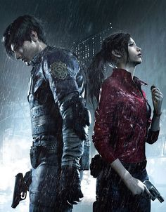 Resident Evil 2 Video Game on Xbox One and Resident Evil Collection, Resident Evil Girl, Leon S Kennedy, Evil Games, Horror Video Games, Gaming Wallpapers, Ps4 Games, Video Game Art, Film