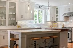 Kitchen Backsplash Tile: How High to Go? - Driven by Decor