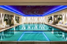 Indoor swimming pool luxus  luxus pool noch ein wirklich schöner luxus pool | Luxuriöse ...