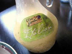 Olive Garden Salad Dressing Recipe
