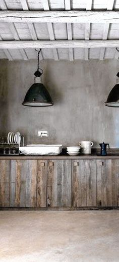 great open kitchen. If you love rustic style, you should now that is a trend. Use it in your bedroom, bathroom, living room or dining area. See more home design ideas at http://www.homedesignideas.eu #contemporary #interiors