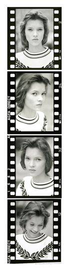 Kate Moss Quartet (Giclee Signed Limited of Edition of 88) by David Ross