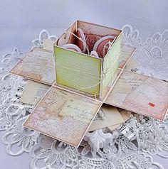 Exploding Box Card, Explosion Box, Container, Blog, Cards, Decor, Decoration, Blogging, Maps