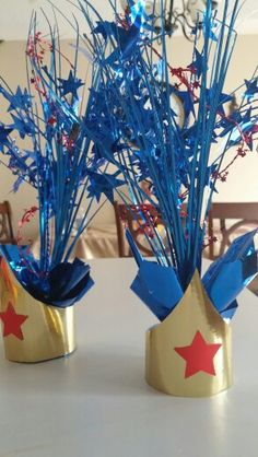 Wonder Women Center Pieces