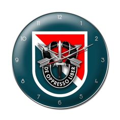 11th Special Forces Group Clock