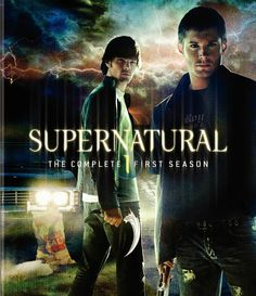 The Supernatural Fanshop: Supernatural DVD Season 1 Dean Winchester Supernatural, Supernatural Season One, Supernatural Tv Show, Supernatural Poster, Jared Padalecki, Jensen Ackles, The Cw, The Dark World, Winchester Brothers