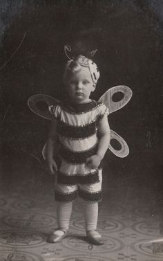Prince Ludwig Philipp Maria Friedrich Joseph Maximilian Antonius Ignatius Lamoral of Thurn and Taxis (full German name) in a bee costume. Early 1900s