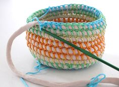 Little baskets are so handy for corralling small miscellanea that seem to end up all over the house, you can never have too many. I've created some lovely rainbow hued ones with a simple coil…