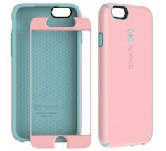 CandyShell + FACEPLATE for iPhone 6 - Quartz Pink/River Blue