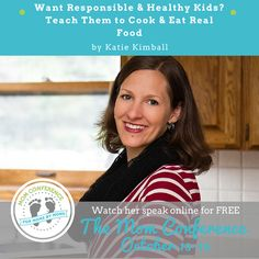 Learn simple ways to teach your kids how to cook.  Katie has taught all of her kids to cook and knows how to make it happen!