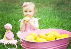 Eat Drink Pretty | Real party: a sweet pink lemonade 1st birthday party