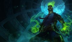Zombie Brand Skin, so funny the way he run around. Please, gimme one as present!  League of Legends