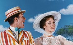 Julie Andrews Mary Poppins, Mary Poppins 1964, Disney Girls, Disney Love, Grimm, Saving Mr Banks, Pixar Animated Movies, Jolly Holiday, Walt Disney Pictures