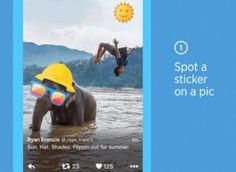 Twitter anunció que muy pronto los usuarios podrán aplicar stickers a sus imágenes