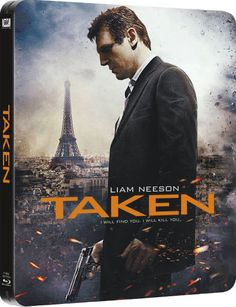 taken bluray steelbook second release