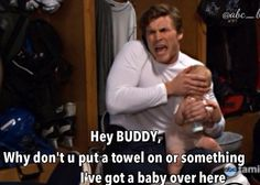 """Danny Baby Daddy. """"Put on a towel, Buddy, I've got a baby here!"""""""