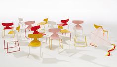 Saya Mini Chair - designed by Lievore Altherr Molina for Arper