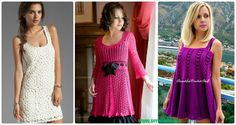 A Collection of Crochet Women Dress: Crochet Long Dress for Ladies Spring and Summer Wear