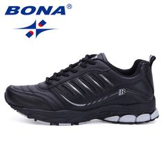 BONA New Most Popular Style Men Running Shoes Outdoor Walking Sneakers Comfortable Athletic Shoes Men  For Sport Free Shipping //Price: $59.16 & FREE Shipping //     #hashtag3