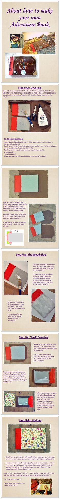 Adventure Book Tutorial II by Plushbox on DeviantArt