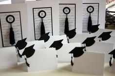 Graduation invites by The Scrapbooker