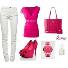 Pink outfit Date night!!