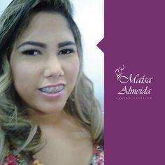 Olha que linda nossa cliente, arrasando com a produção da Maísa Almeida. Cabelo e maquiagem <3 #Arrasando #MaisaAlmeida #ClienteLinda