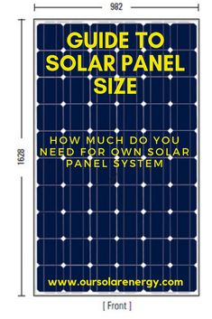 One of this most important step before you decide on financing a modest solar-powered system will be the solar panel size. Find out more details at www. Solar Energy Panels, Best Solar Panels, Solar Panels For Home, Landscape Arquitecture, Solar Solutions, Solar Roof, Solar Projects, Energy Projects, Solar Panel Installation