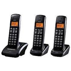 Pack de 3 Teléfonos Inalámbricos TopCom Dect Butler E700 5411519017154
