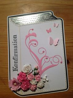 Image result for handmade confirmation card ideas