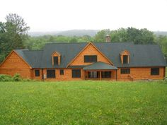 Log home built using products from Wholesale Log Homes. Learn more about us at http://www.wholesaleloghomes.com