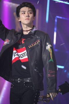 Sehun - 170119 26th Seoul Music Awards  Credit: Sherojia. (제26회 서울가요대상)