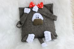 Pillow Cat, Decorative Pillow, Home Decor Cat, Cool Cat, Children Room Decor