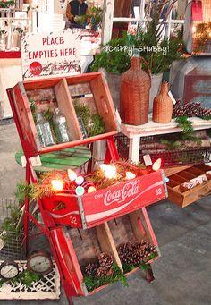 ChiPPy!-SHaBBy! Booth  Grayslake Flea Market - Illinois  Nov. 2011