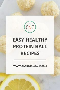 If you are looking for a healthy snack that fits your macros, this is it! Check out these healthy protein ball recipes! | Carrots N Cake | Macro Friendly Snack Recipes |