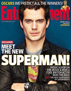 Henry Cavill. So good in The Tudors and Immortals. About to be the new Superman!