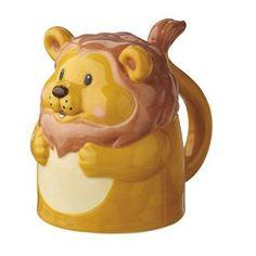 Amazon.com | Lion Topsy Turvy Fun Upside Down 13 Oz. Ceramic Mug: Coffee Cups & Mugs