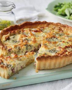 Mascarpone, Pancetta & Gorgonzola Tart - ALDI UK