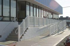 business stair railings