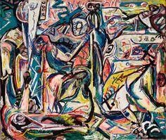 Jackson Pollock. Circumcision. January 1946 - Guggenheim Museum