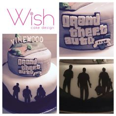 Gta cake  Facebook.com/Wisheventosedesign