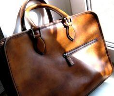 """Berluti """"Deux Jours"""" leather briefcase"""