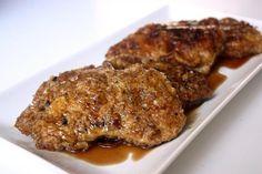 Garlic Honey Marinaded Pork Chops Recipe