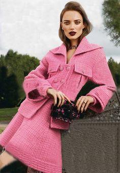 Morpheus Boutique  - Pink Knit Button Loose Long Sleeve Designer Coat   , CA$170.16 (http://www.morpheusboutique.com/new-arrivals/pink-knit-button-loose-long-sleeve-designer-coat/)